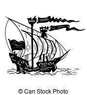 dessin bateau noir bateau noir blanc illustration vecteurs search clip