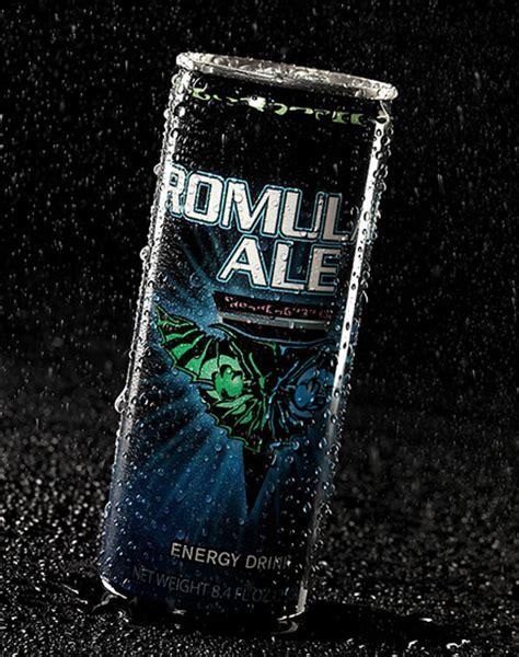 u star energy drink romulan ale trek energy drink