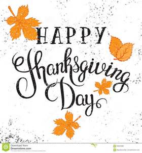 happy thanksgiving day poster stock vector image 60832886