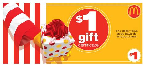 Mcdonals Gift Card - mcdonalds gift card value lamoureph blog