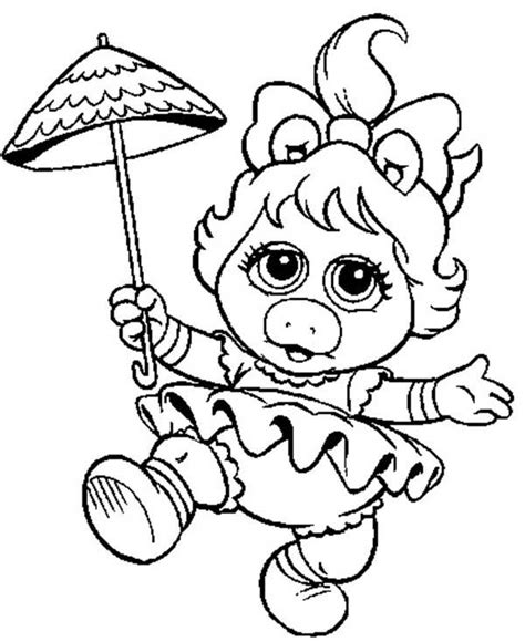 Miss Piggy Coloring Pages Www Pixshark Com Images Miss Piggy Coloring Pages
