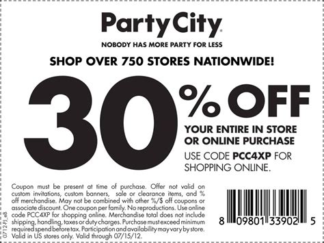 Promo Codes For Barnes And Noble Party City Printable Coupons Online Printable Coupons Online