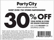 Party City Printable Coupons Online | Printable Coupons Online Restaurant Promo Code October 2016