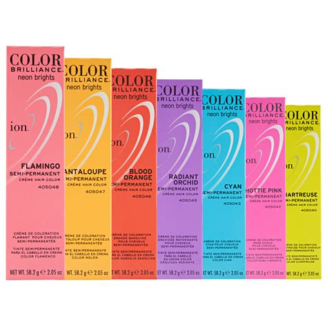 ion brilliance hair color instructions ion color brilliance semi permanent neon brights hair