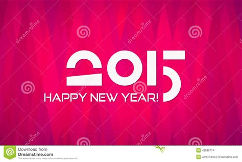 happy new year 2015 banner abstract minimalistic flat happy new year 2015 stock