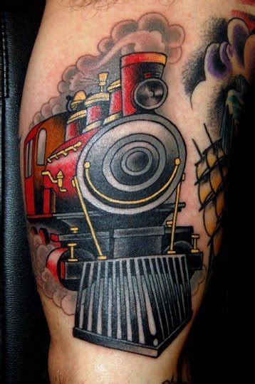 train tattoos designs bodysstyle