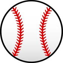 baseball templates white baseball with seams free clip