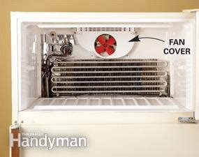 how to fix a refrigerator fan refrigerator troubleshooting fix refrigerator problems