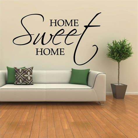 wall stickers for home home sweet home wall sticker from loveabode