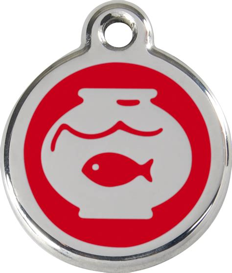 fb product red dingo enamel tag fish bowl red 01 fb re 1fbrs
