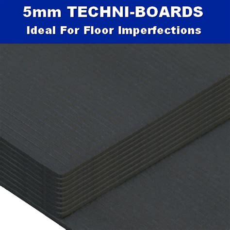 5mm techni board laminate wood underlay 6m2 flooring trade warehouse