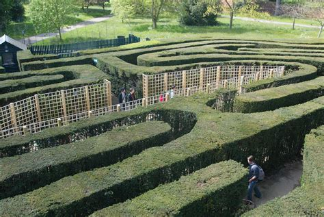 discover     mazes   uk  english garden