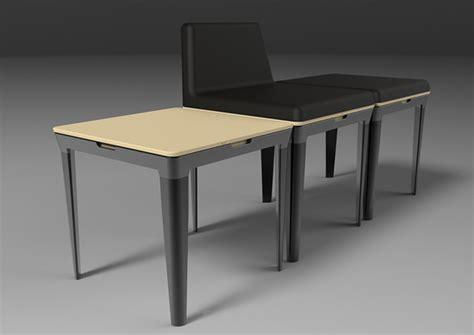 sillas minimalistas adaptables muebles de oficina spacio