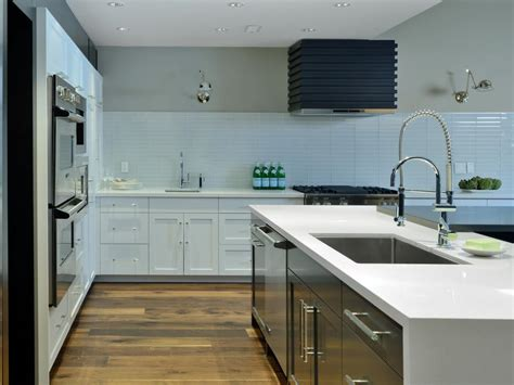 Kitchen Backsplash Material Options 30 Trendiest Kitchen Backsplash Materials Hgtv