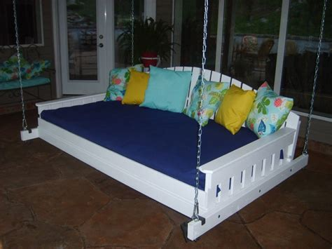 twin bed swing 17 best images about porch swing hanging idea on