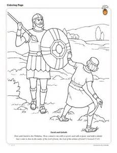 david and goliath coloring page david and goliath