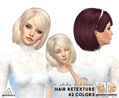 child bob haircut sims 4 sims 4 hairs miss paraply maysims 46 hairstyle retextured