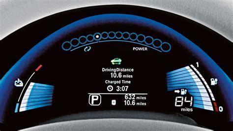 nissan leaf battery range charging range nissan leaf electric car nissan