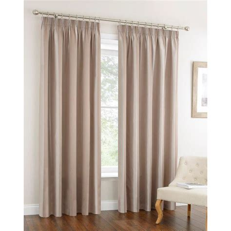 b m curtains oxford stripe fully lined curtain 66 x 72 quot home b m