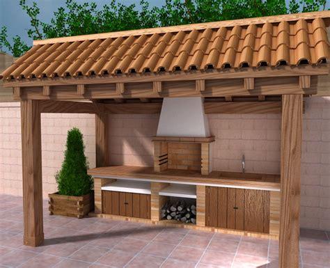 ricerca casa modelos de barbacoas rusticas cerca amb cocina