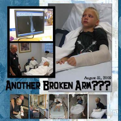 scrapbook layout broken arm debduzscrappin digi layout quot aj s 2nd broken arm quot