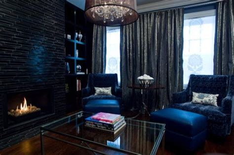 stylish dark living room designs digsdigs
