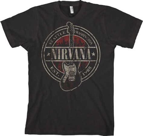 Tshirt Band Nirvana 25 best ideas about nirvana shirt on nirvana