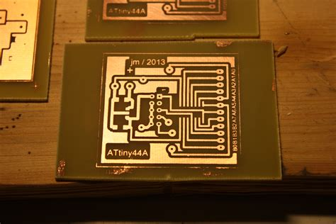 diy home pcb exposure and etching process just add electrons