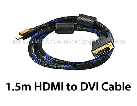 Kabel Vga 1 5m Gold Plated new 1 5m gold plated hdmi to dvi d end 2 22 2018 10 39 pm