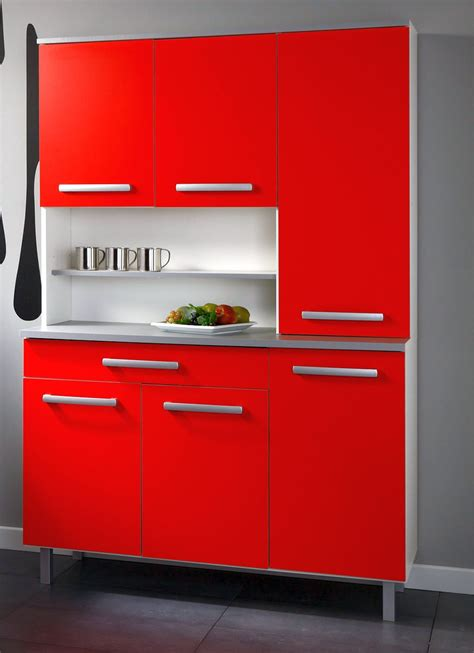 Red Lacquer Kitchen Cabinets | compact red lacquer kitchen cabinet