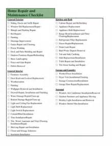 home repair checklist template kitchen remodel checklist excel budget