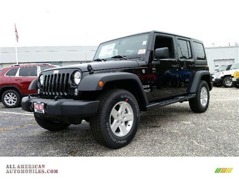 2016 jeep sport 2016 jeep wrangler unlimited sport 4x4 in black 118871