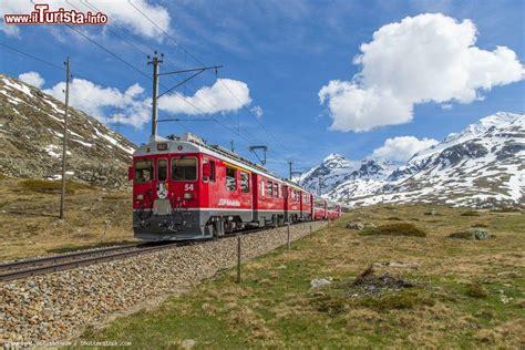 treno a cremagliera il trenino rosso bernina percorso fermate e informazioni