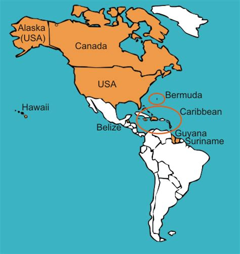 united states map and south america gateway to world englishes