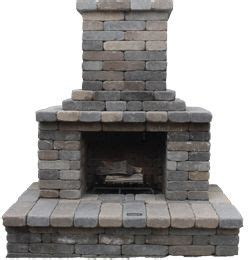 patio fireplace kit best 25 outdoor fireplace kits ideas on