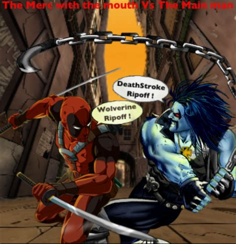 Topeng Deadpool Mask Dead Pool Antihero Xmen X 1 deadpool vs lobo marvel vs dc merc vs merc by tony