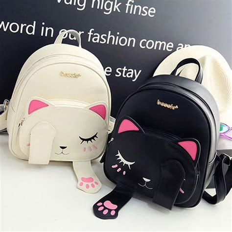 imagenes de mochilas kawaii hot cute cat backpack gear eden
