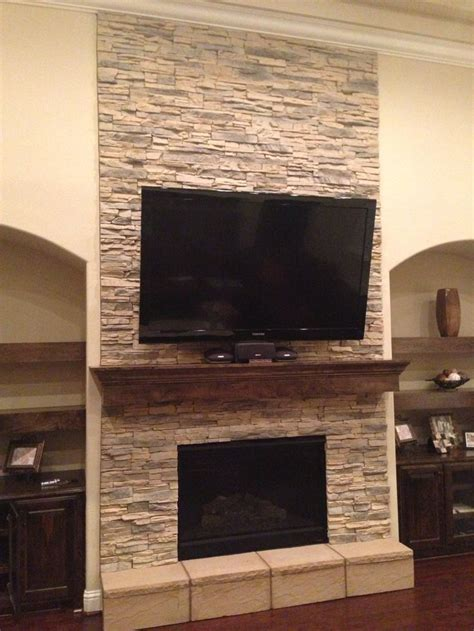 stone gas fireplace stacked stone gas fireplace home basement ideas