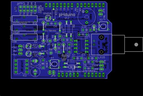 Pcb Design Jobs Ph | phduino ph meter using arduino board for glass electrode