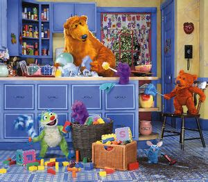 bear   big blue house muppet wiki fandom powered