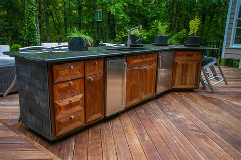 outdoor armoire kennesaw outdoor kitchen 2 contemporary patio atlanta by cabinets of atlanta inc