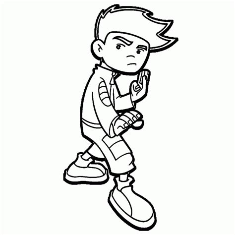 american dragon jake long coloring pages coloring pages