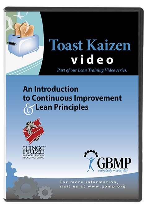 5s five challenges lean training dvd from gbmp dvdrip toast video dvd the perfect introduction to continuous