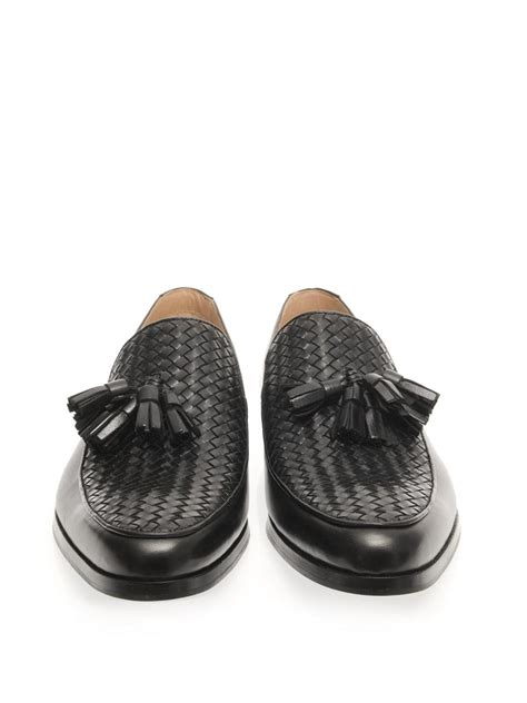 mr hare loafers mr hare genet tassel loafers in black for lyst