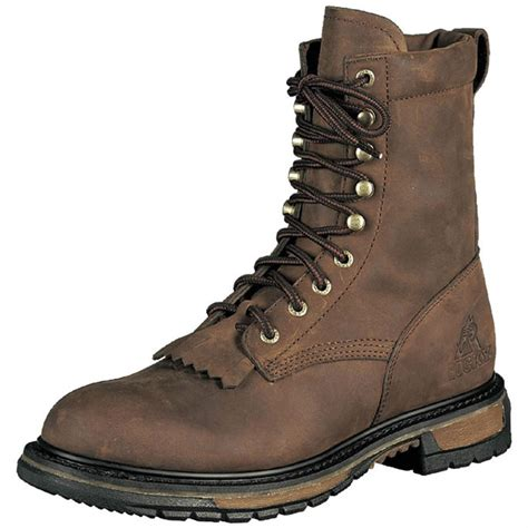 boot for s rocky 174 ride lacer 8 quot boots 86939 work boots