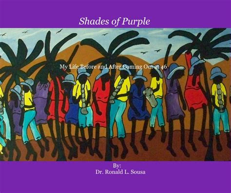 the color purple book blurb shades of purple by by dr ronald l sousa biographies