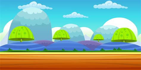 wallpaper cartoon videogames buy 6 vector game backgrounds for ui graphic assets