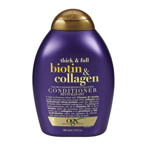 ogx thick conditioner with biotin collagen 385ml drugs