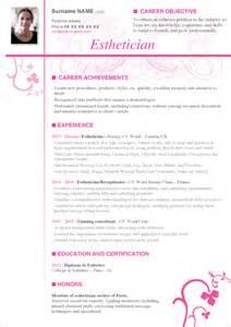 cover letter for esthetician esthetician cover letter http www resumecareer