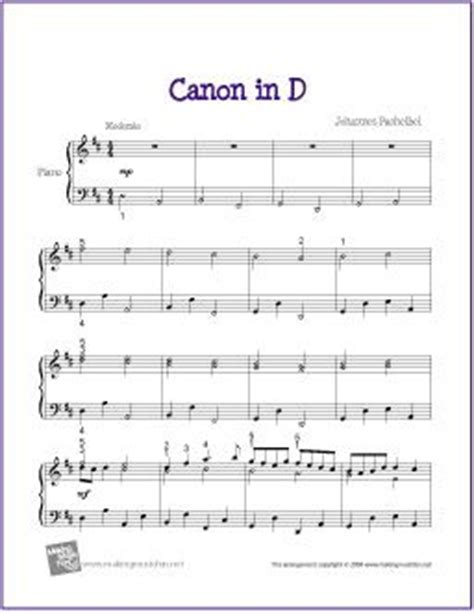 canon in d major wedding song canon in d sheet music for piano digital print